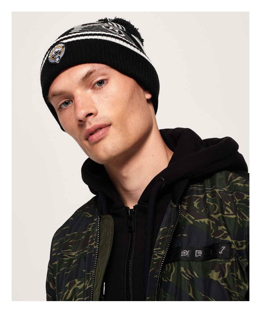 Image for Superdry Superdry Mono Logo Beanie