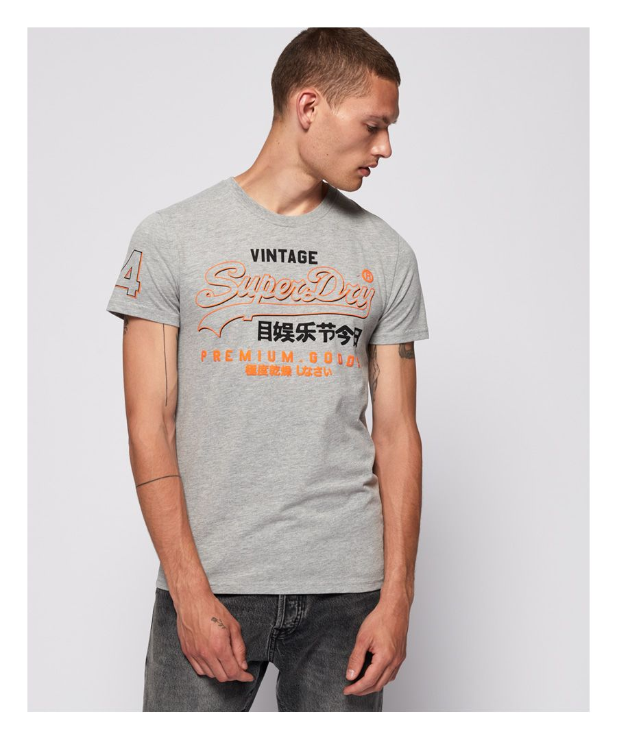 Image for Superdry Premium Goods Outline Mid T-Shirt