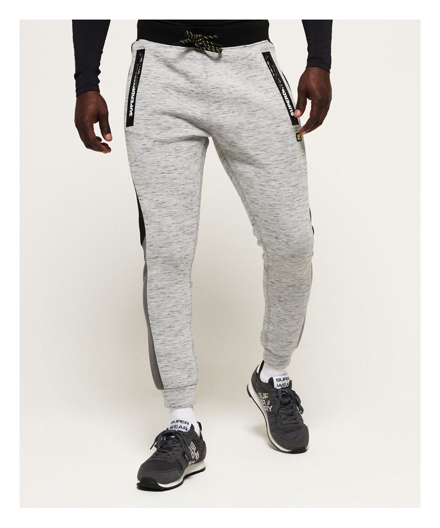 Image for Superdry Gym Tech Colour Block Joggers