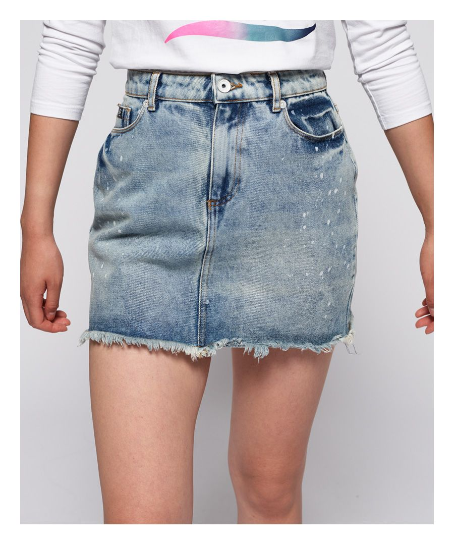 Image for Superdry Denim Micro Mini Skirt