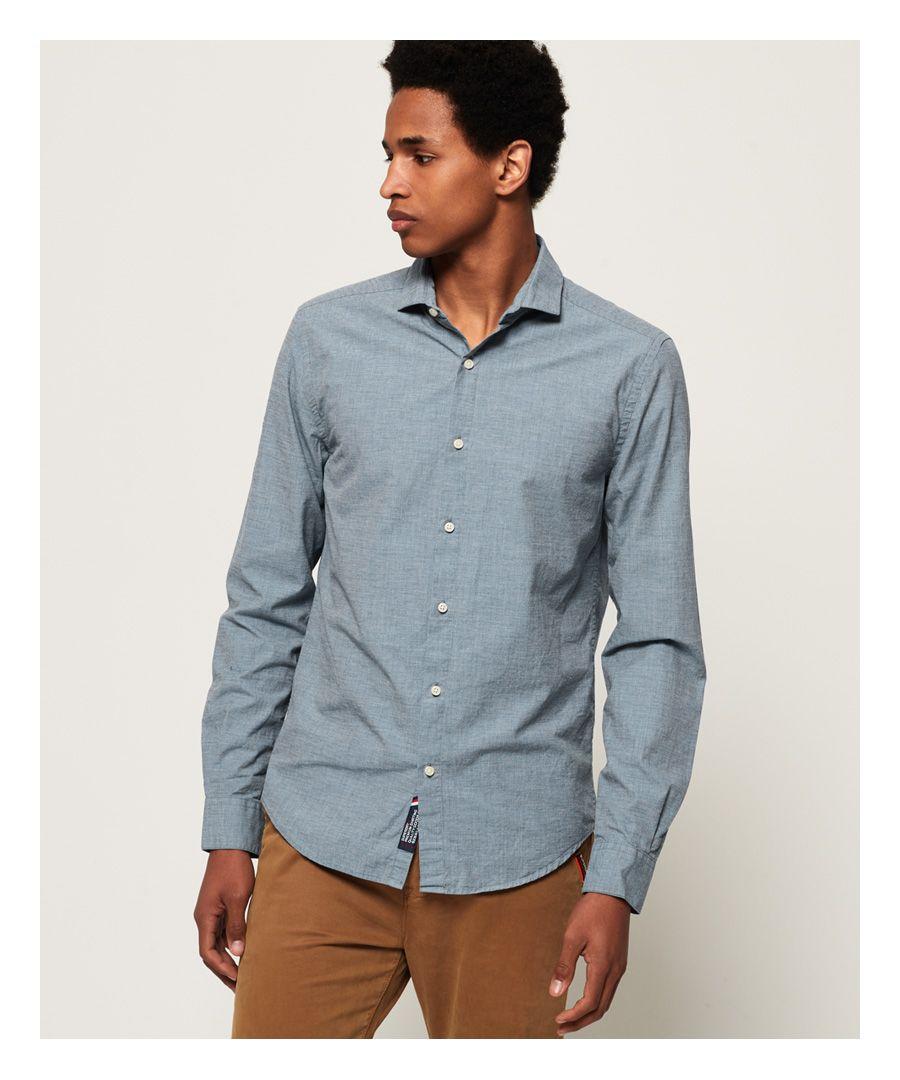 Image for Superdry Cut Away Collar Shirt