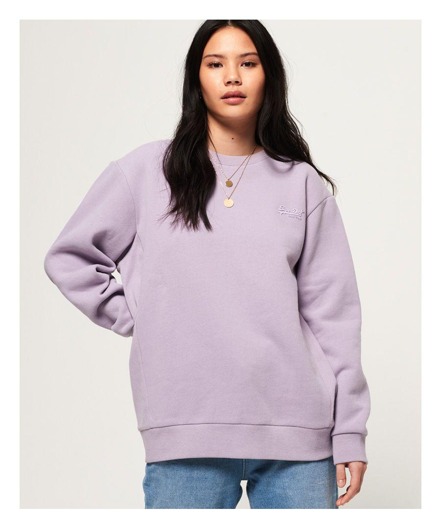Image for Superdry Orange Label Elite Crew Sweatshirt