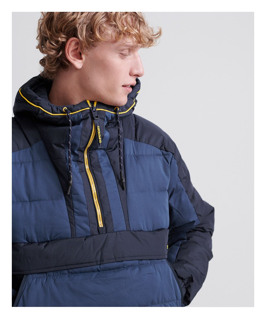 Image for Superdry Downhill Padded Overhead Jacket