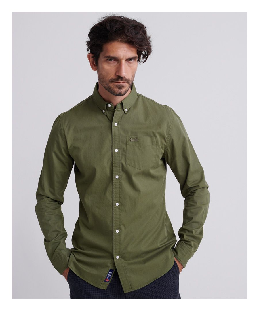 Image for Superdry Classic Twill Long Sleeved Shirt