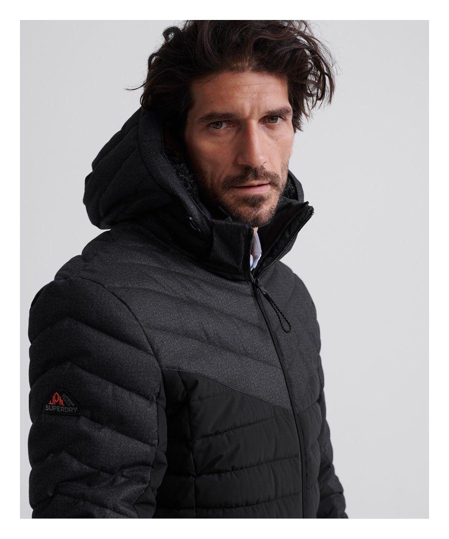 Image for Superdry Tweed Mix Fuji Jacket