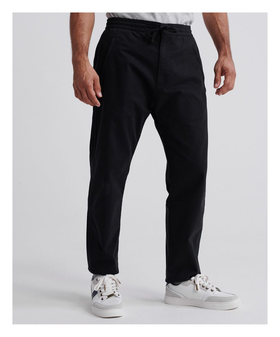 Image for Superdry Edit Taper Drawstring Pants