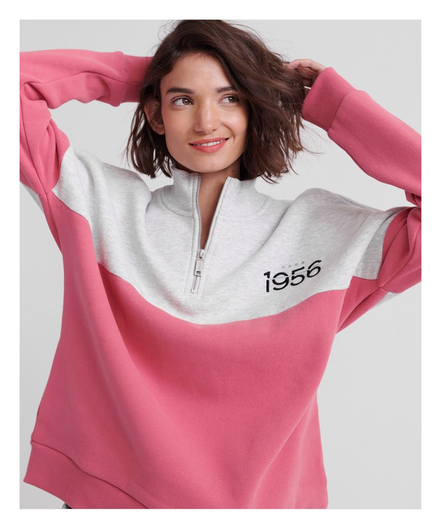 Image for Superdry Ana Half Zip Sweatshirt