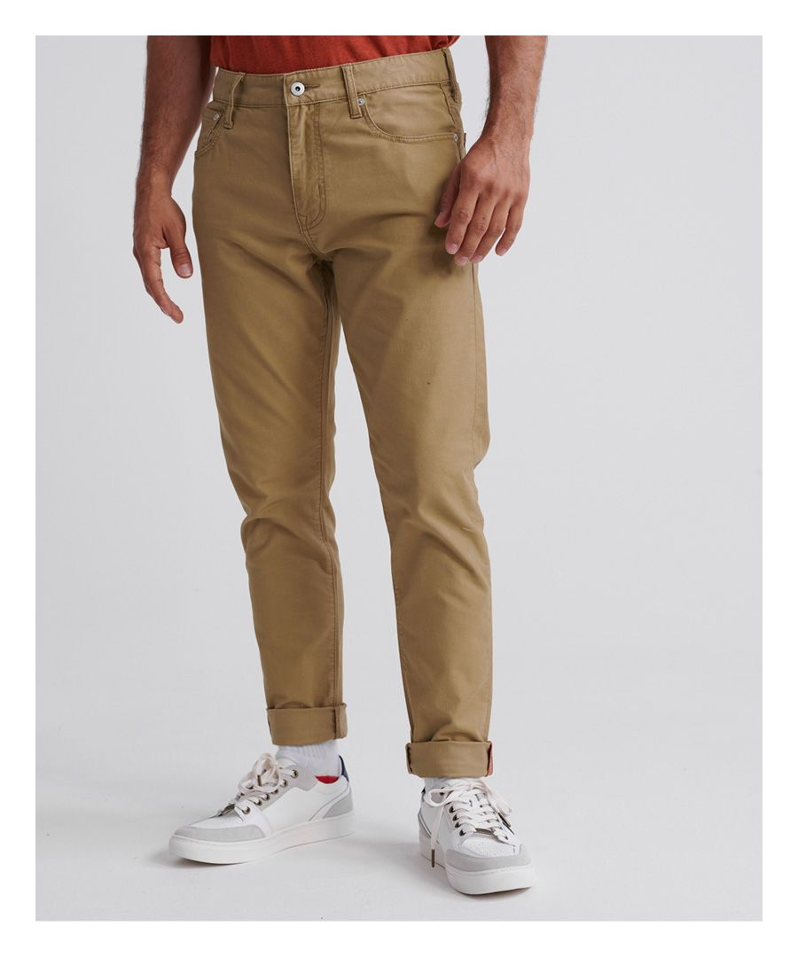 Image for Superdry Edit Tyler Slim Twills Trousers