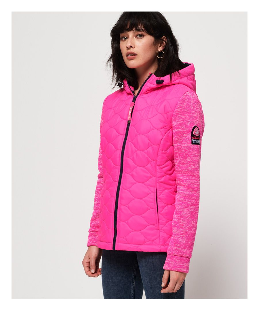 Image for Superdry SD Storm Quilted Hybrid Jacket