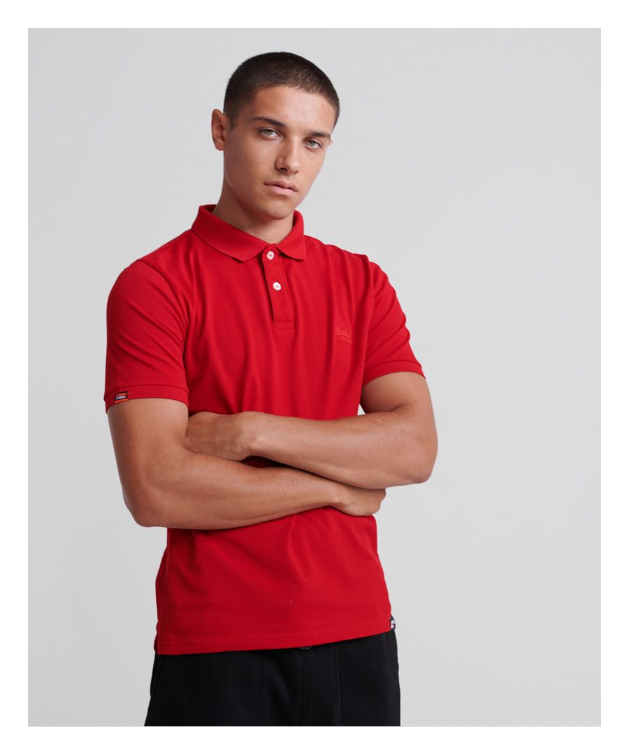 Image for Superdry Classic Lite Micro Pique Polo Shirt