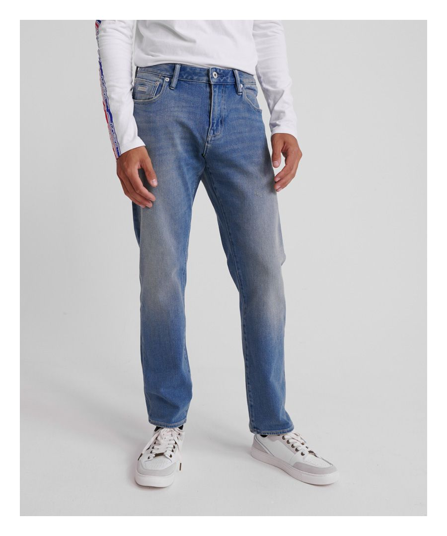 Image for Superdry Daman Straight Flex Jeans