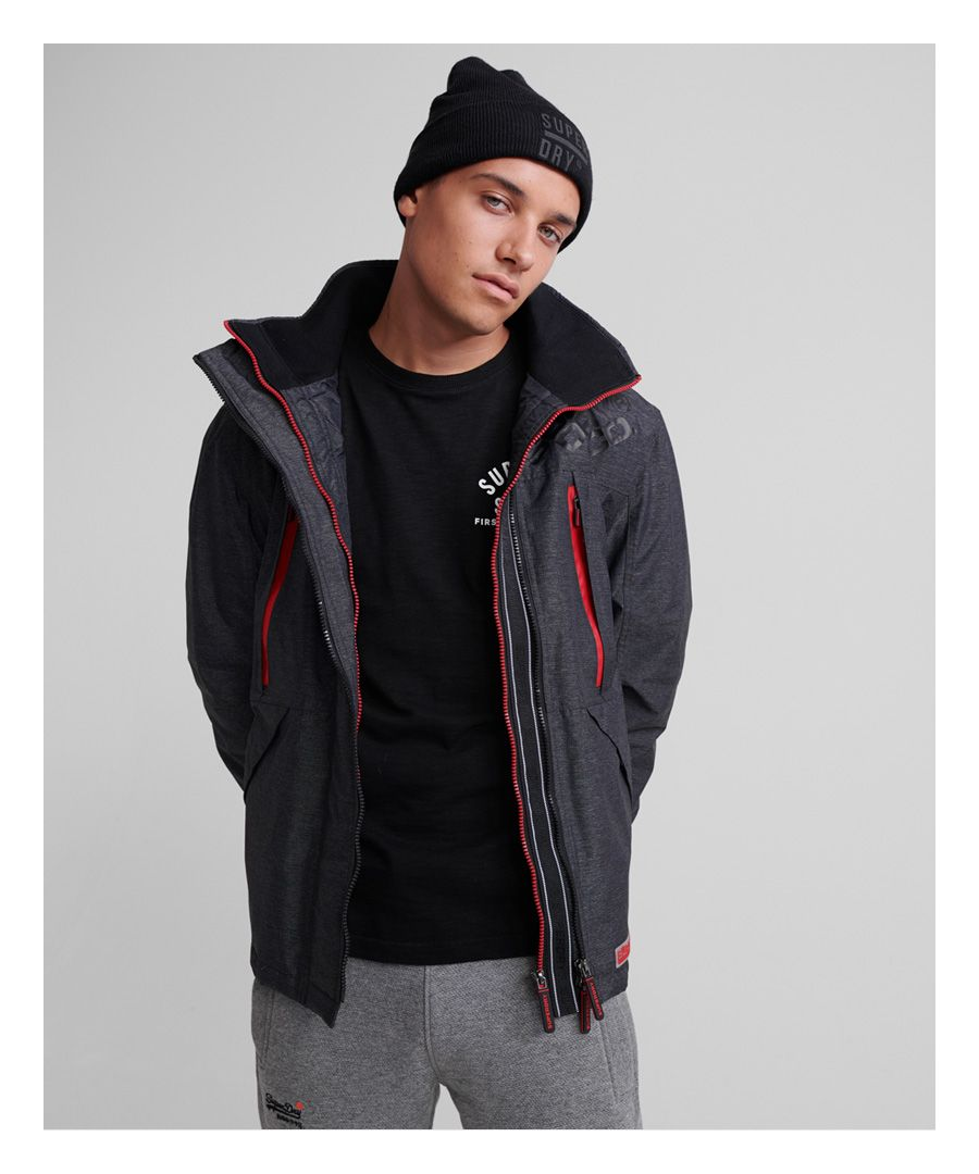 Image for Superdry Hooded Polar SD-Windattacker Jacket