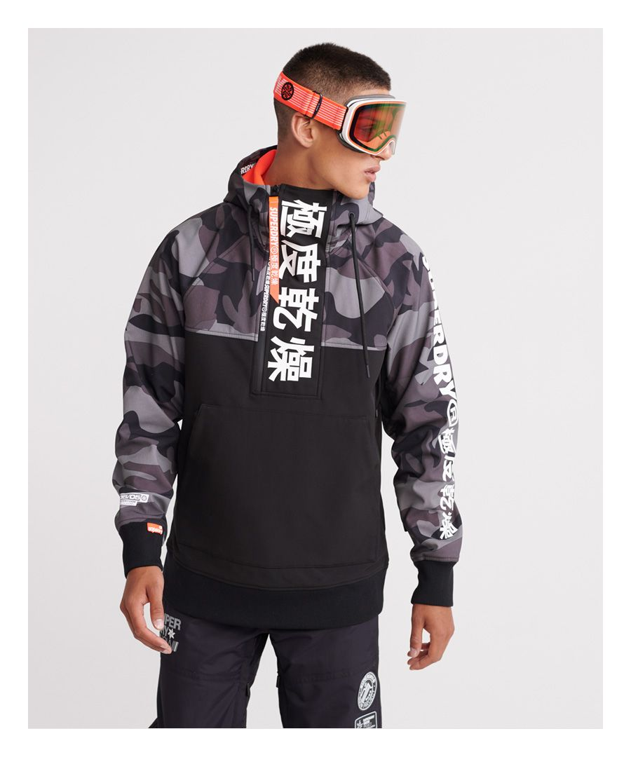 Image for Superdry Snow Tech Japan Edition Hoodie