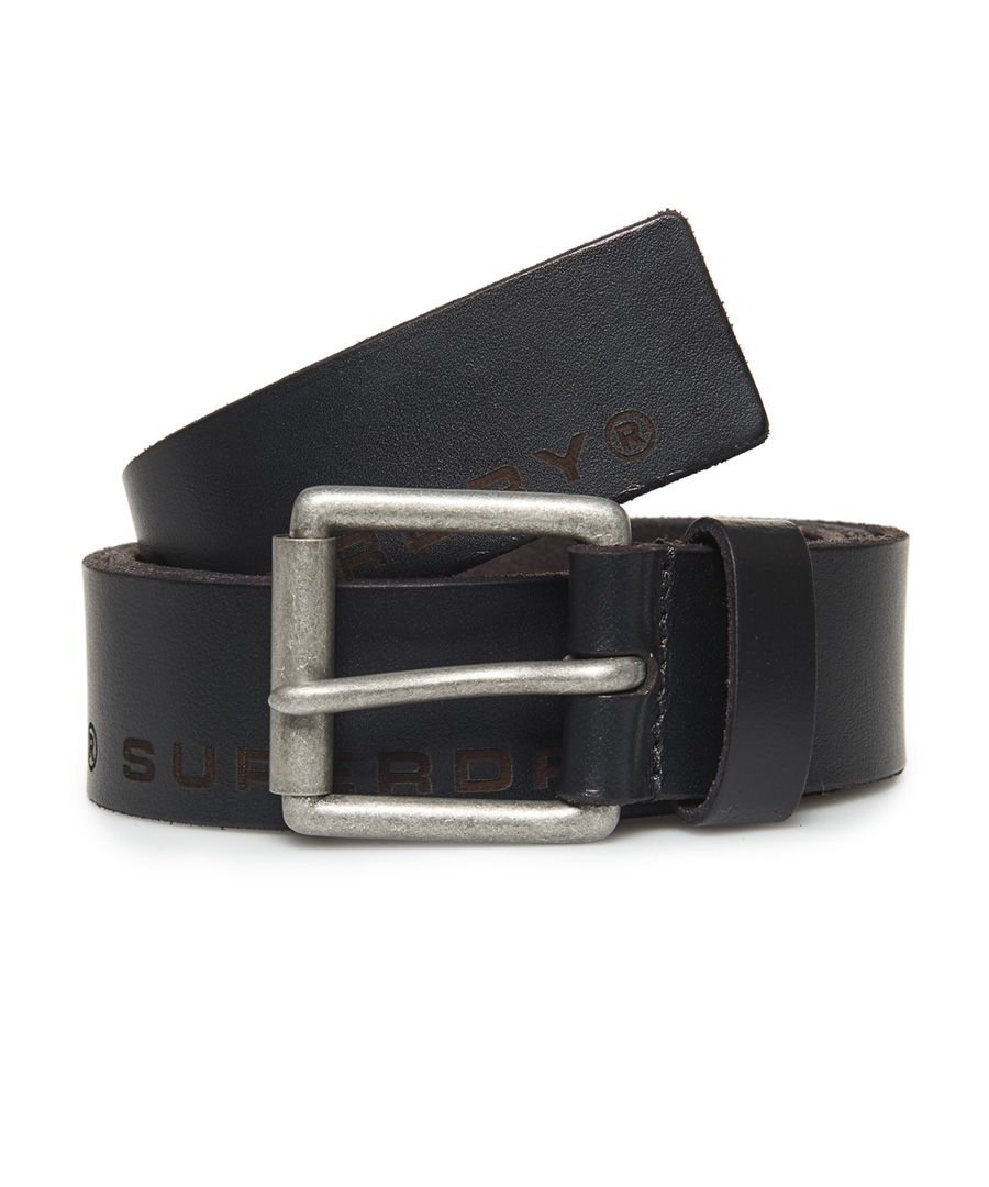 Image for Superdry Edge Logo Leather Belt
