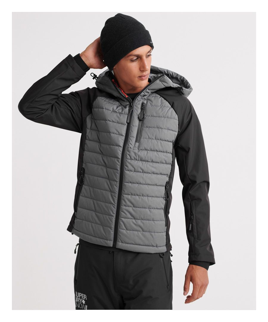 Image for Superdry Kiso Padded Racer Jacket