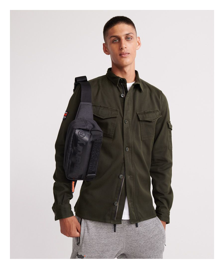 Image for Superdry Patch Patrol Long Sleeved Shirt