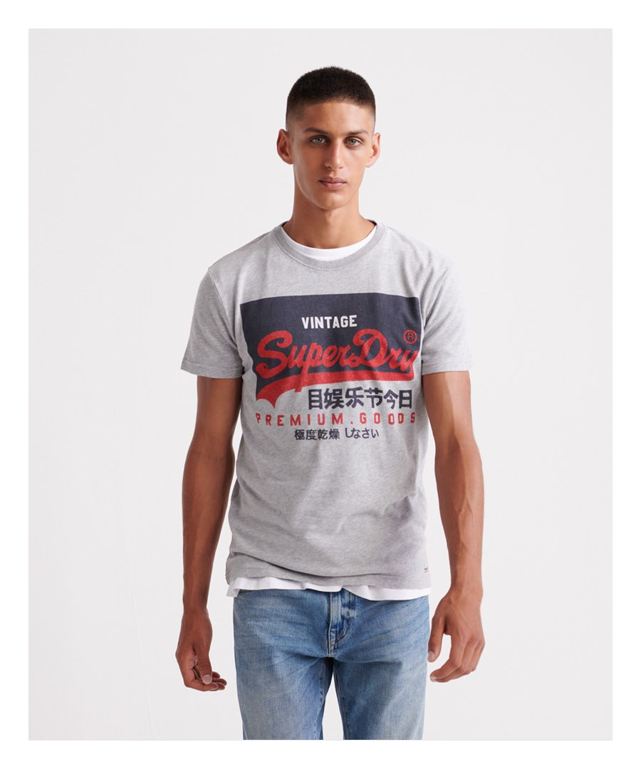 Image for Superdry Organic Cotton Vintage Logo T-Shirt