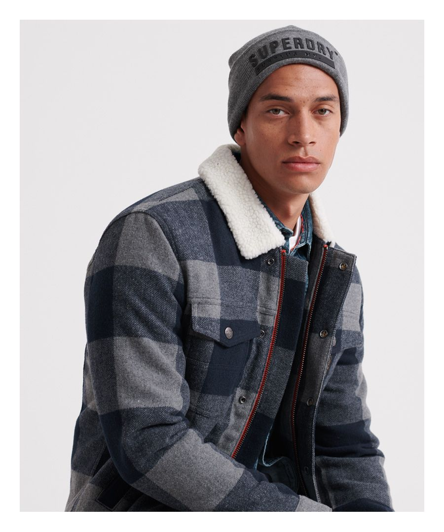 Image for Superdry Hacienda Wool Check Jacket