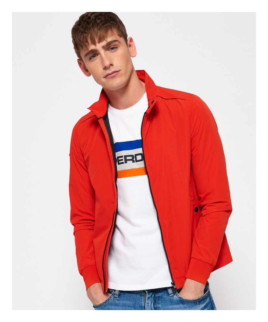 Image for Superdry Premium Iconic Harrington Jacket
