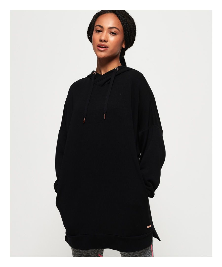 Image for Superdry Active Studio Luxe Oversized Hoodie