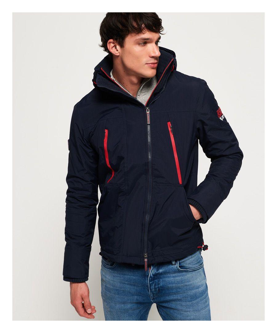 Image for Superdry Hooded Polar SD-Windattacker Jacket