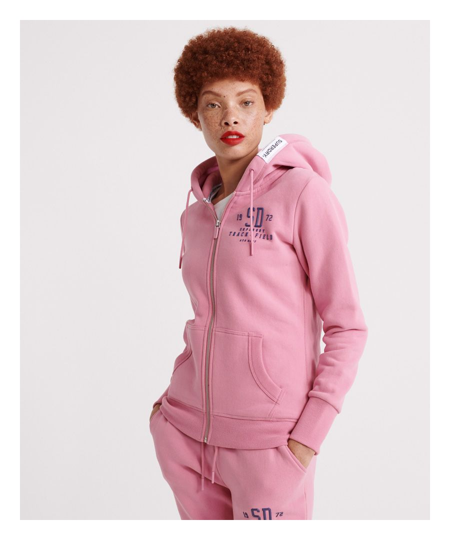 Image for Superdry Track & Field Zip Hoodie
