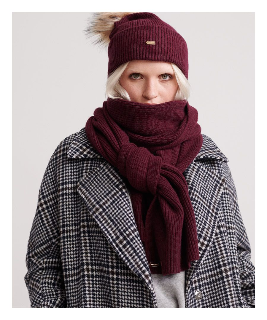 Image for Superdry Heritage Ribbed Scarf
