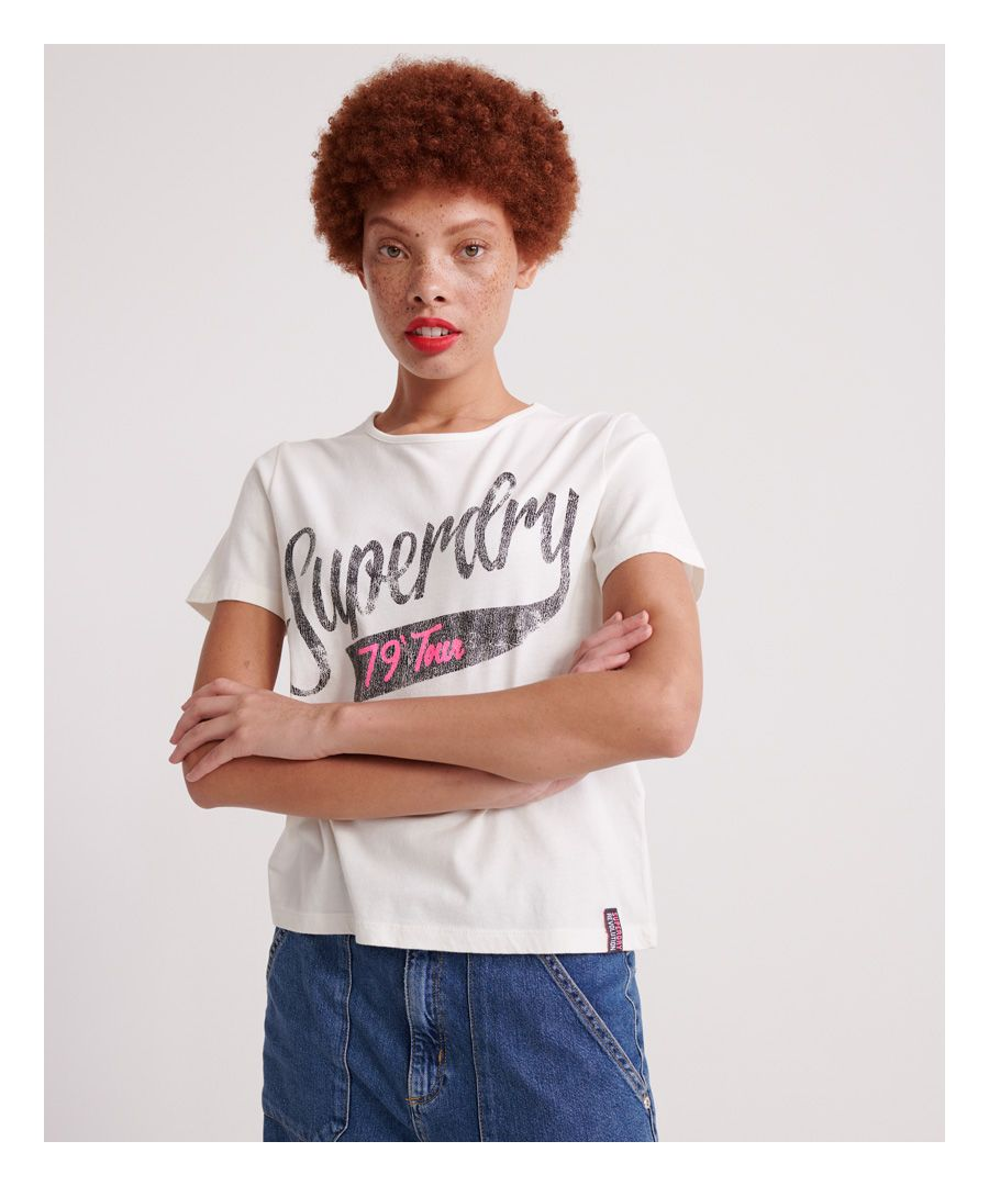 Image for Superdry Tour Boxy T-shirt