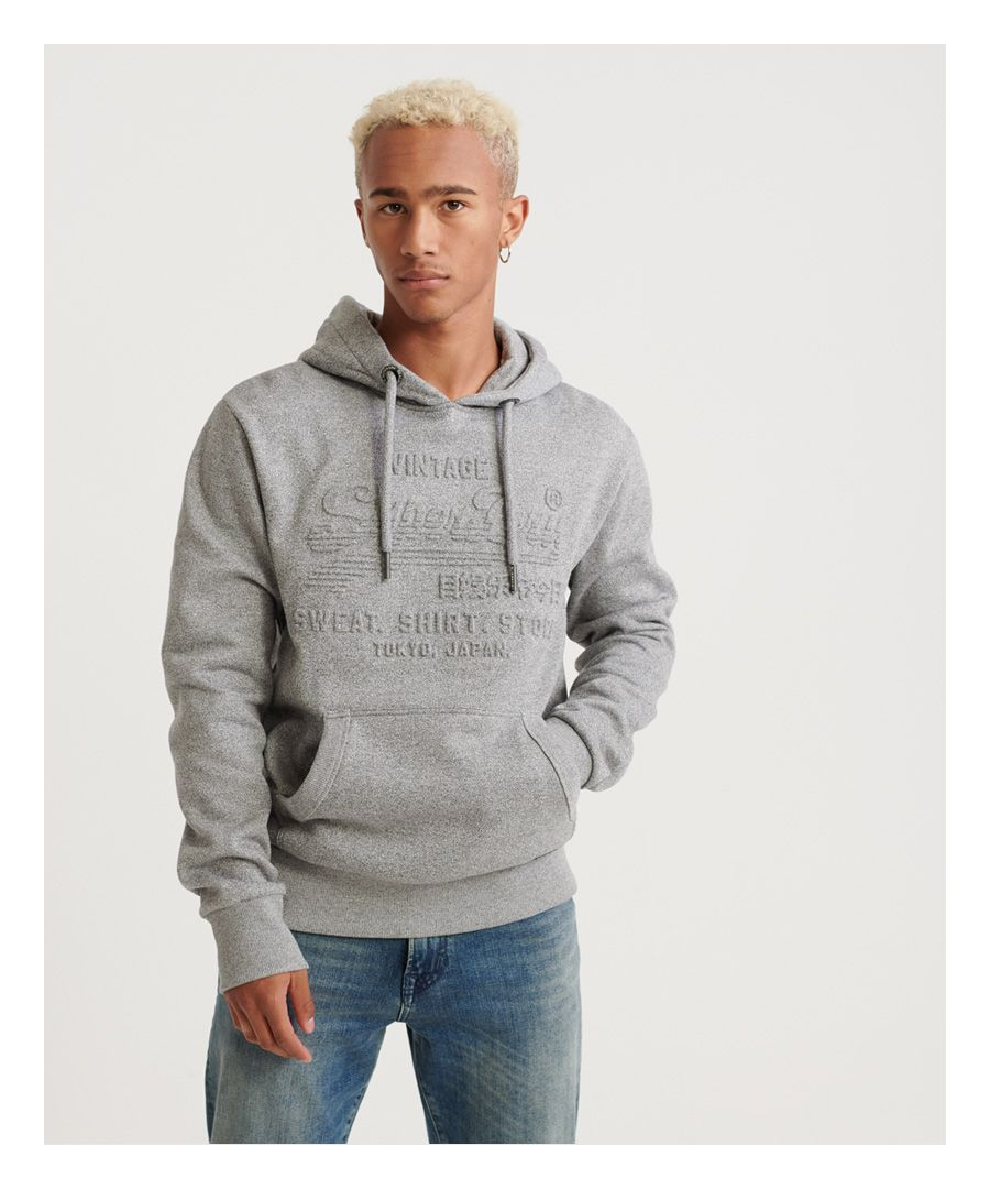 Image for Superdry Sweat Shirt Shop Embossed Hoodie