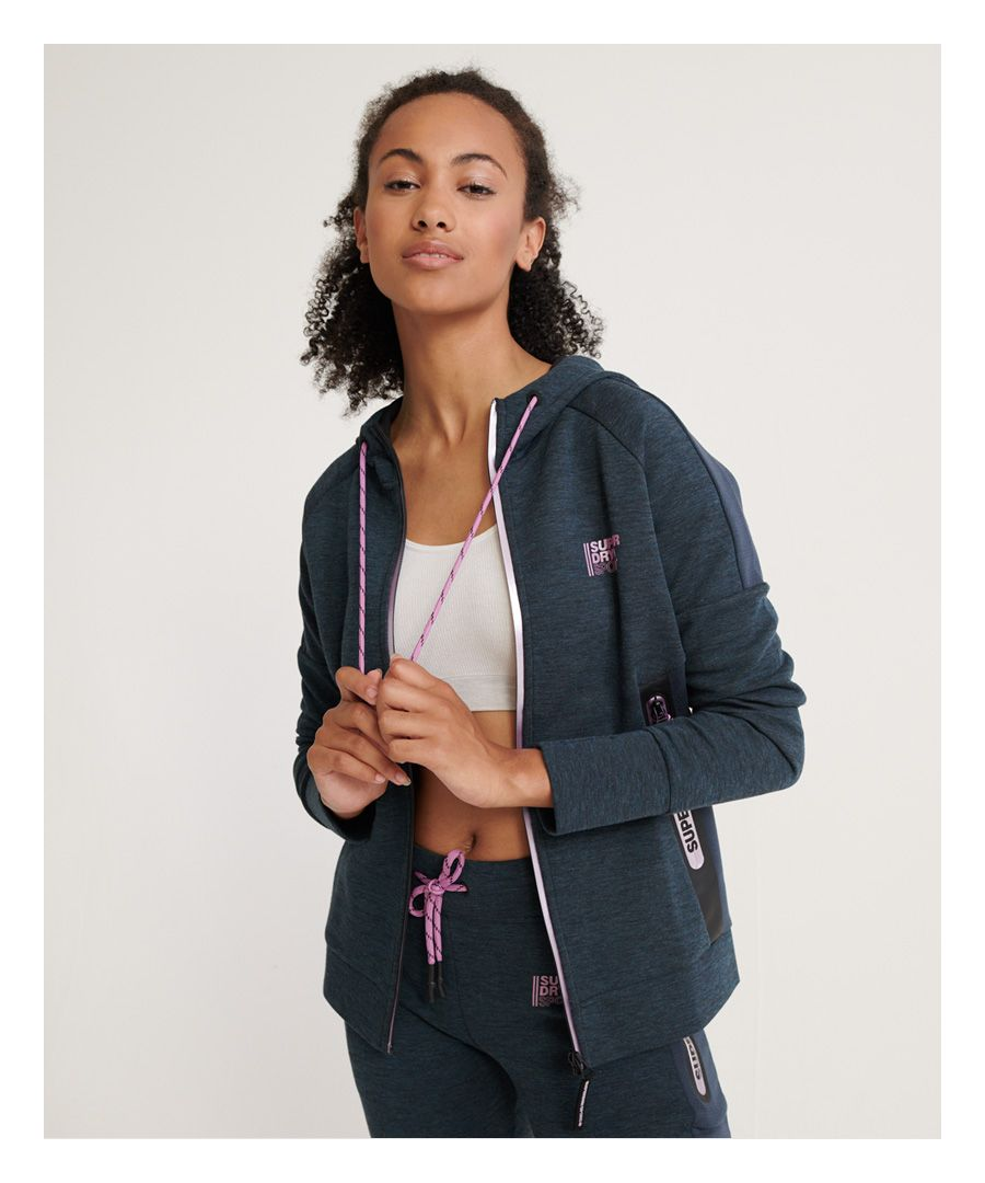Image for Superdry Core Gym Tech Zip Hoodie