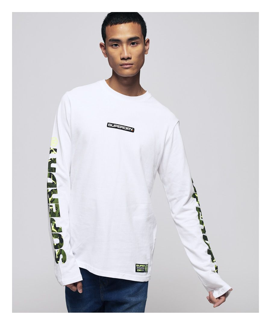 Image for Superdry Trophy Camo Long Sleeve T-Shirt