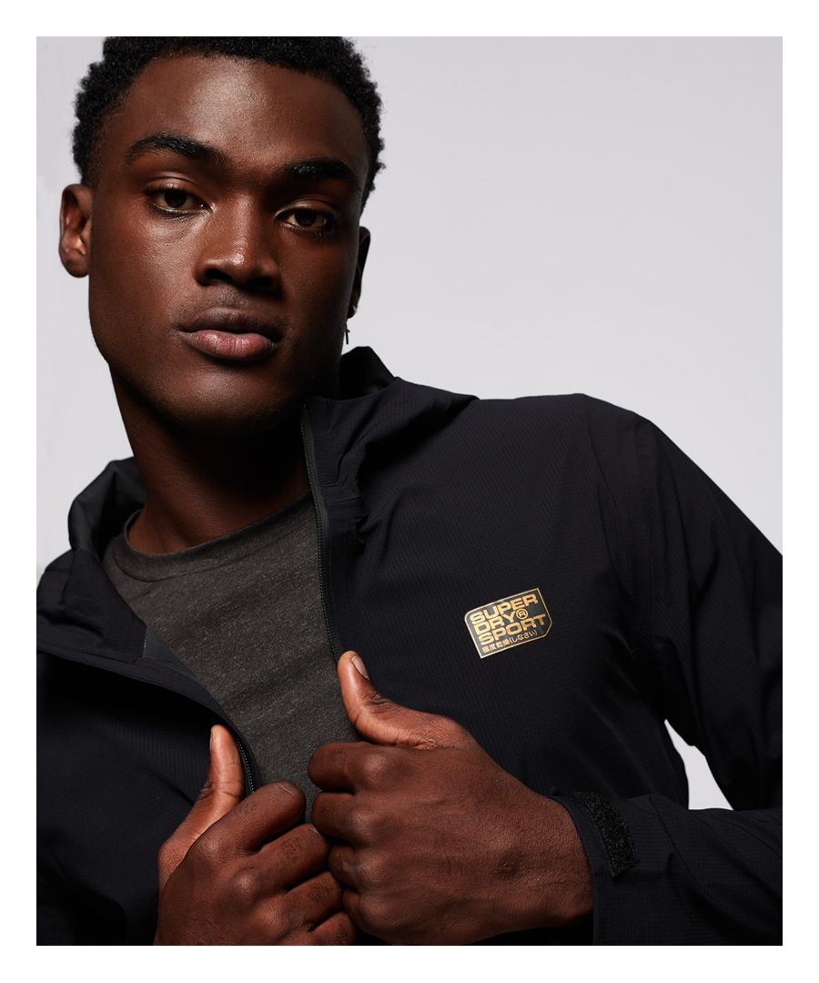 Image for Superdry Performance Waterproof Shell Jacket