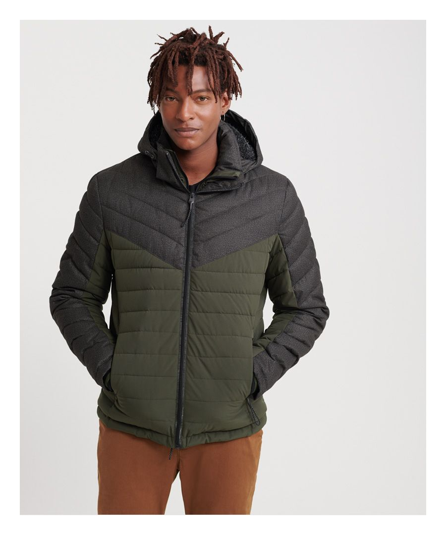 Image for Superdry Tweed Mix Fuji Jacket