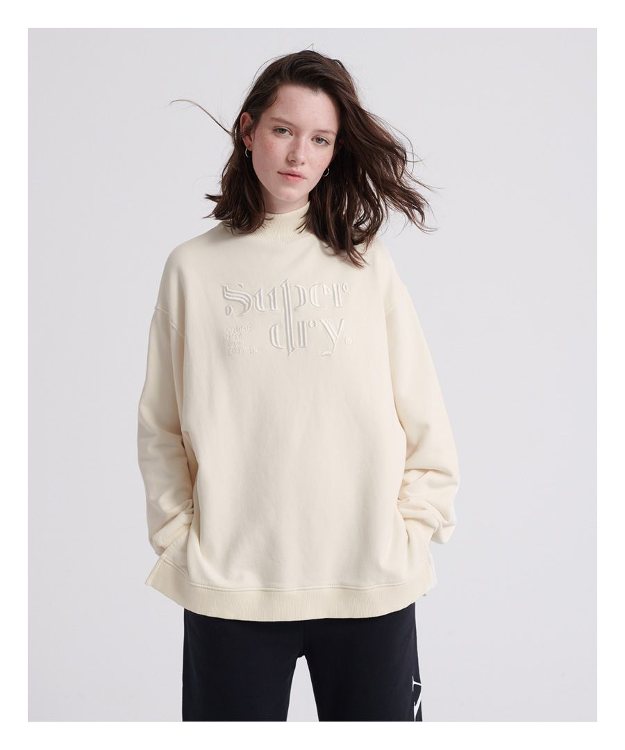 Image for Superdry Ana High Neck Crew Sweatshirt