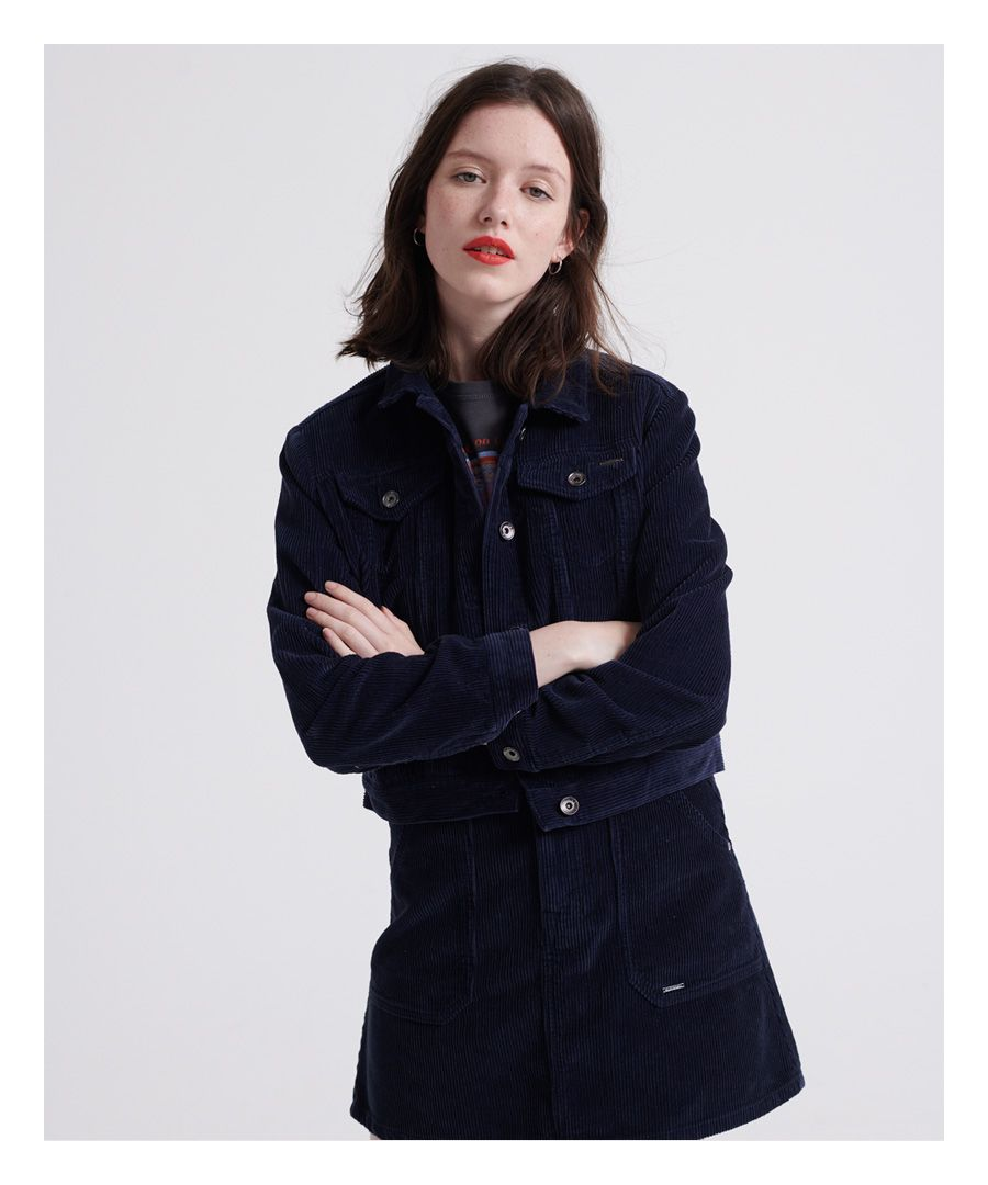 Image for Superdry Cord Girlfriend Jacket