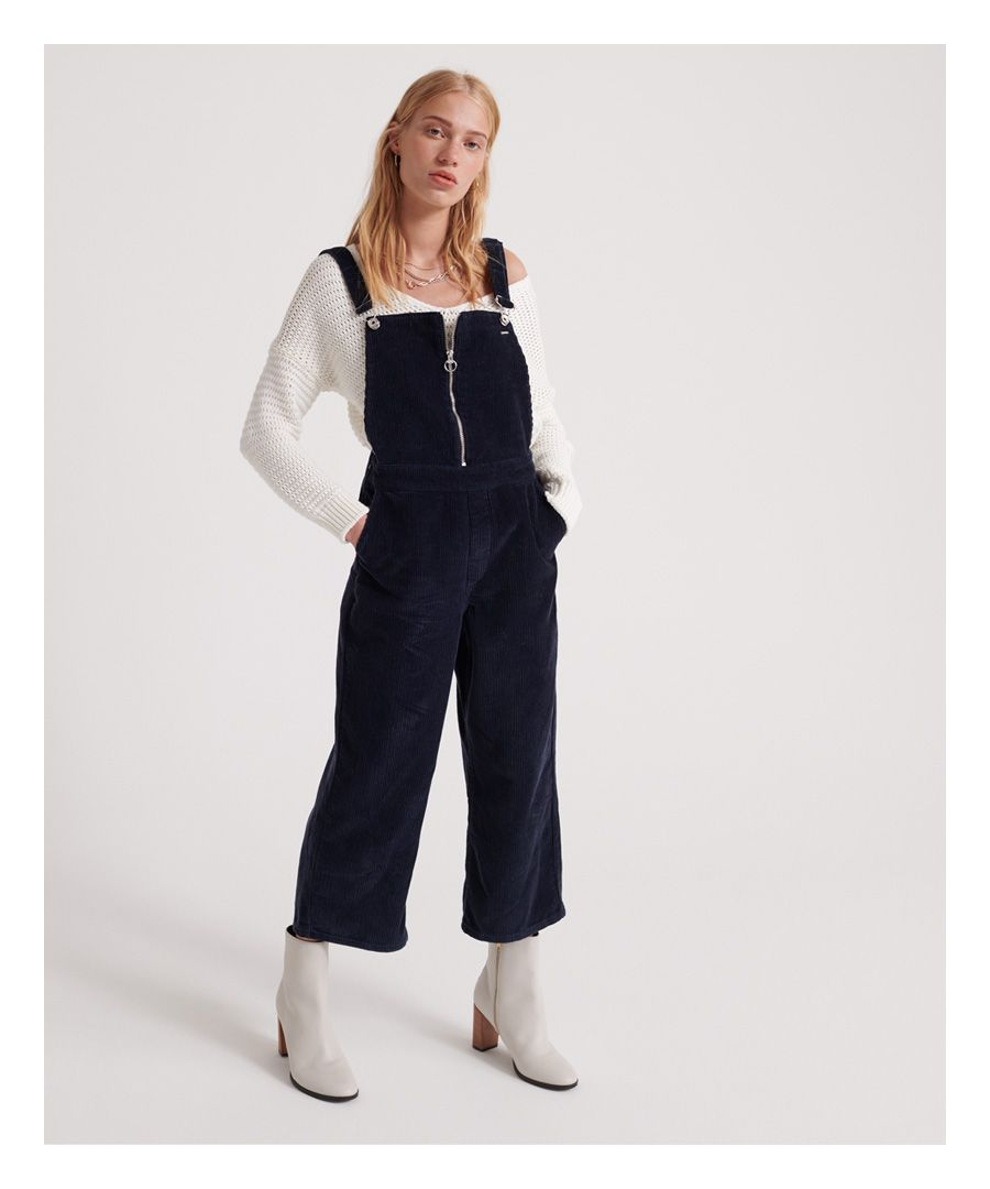 Image for Superdry Phoebe Cord Dungarees