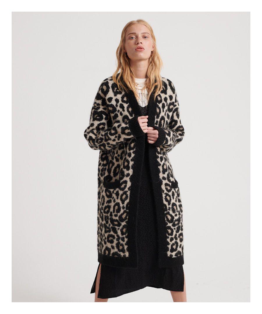Image for Superdry Lisa Leopard Cardigan