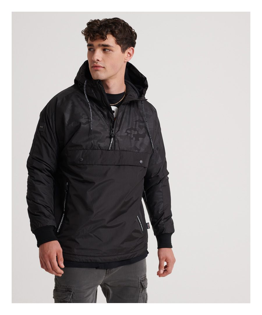 Image for Superdry Surplus Goods Pop Over Hood Jacket