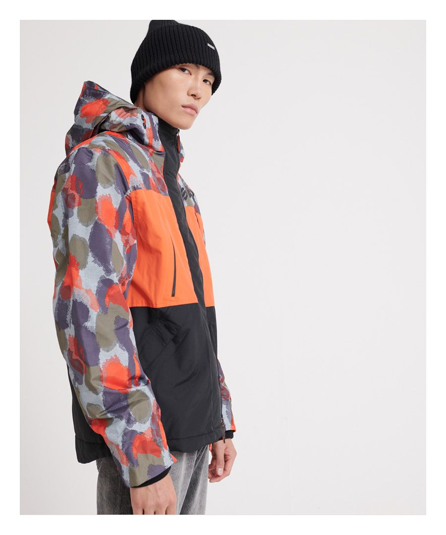 Image for Superdry Hooded Polar Printed SD-Wind Attacker Jacket