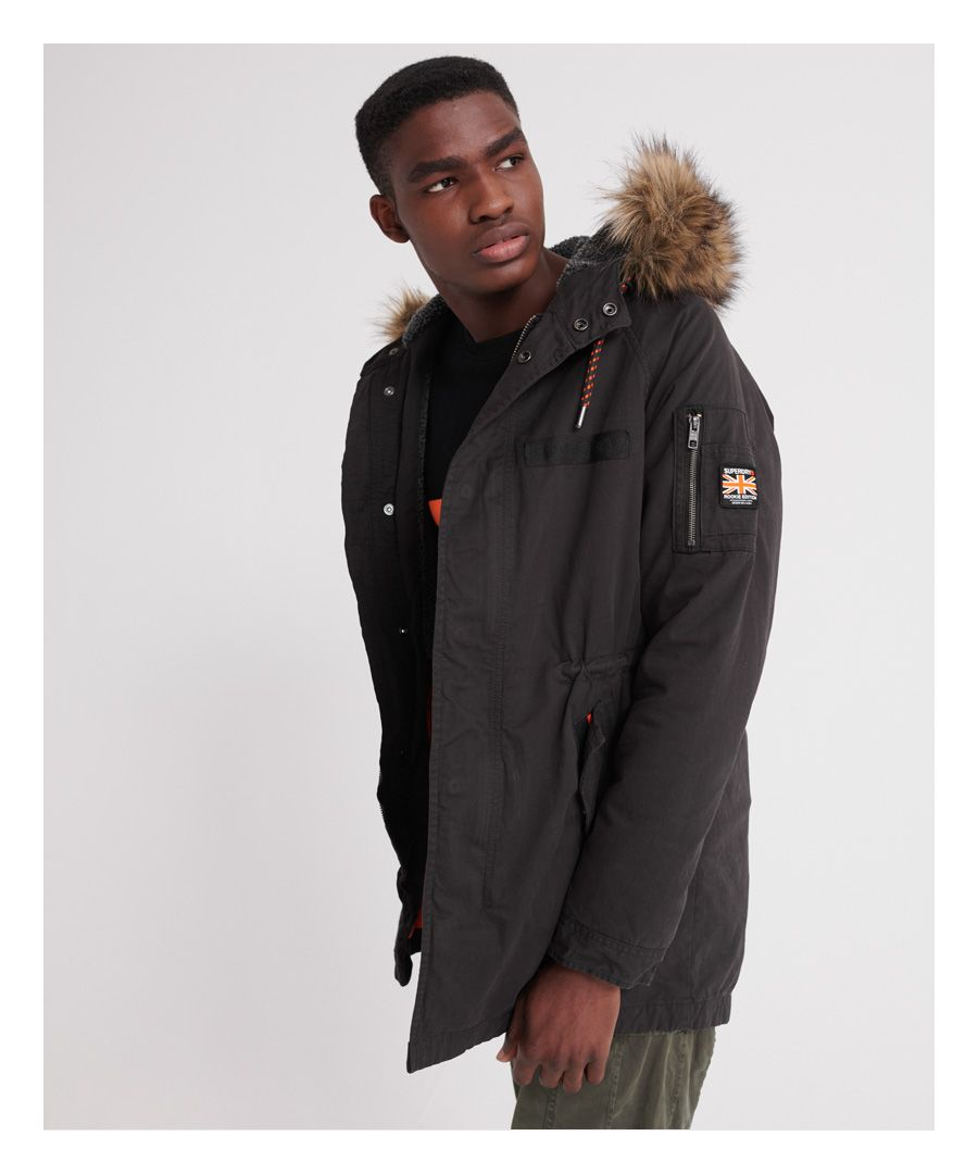 Image for Superdry Mountain Rookie Aviator Parka Jacket