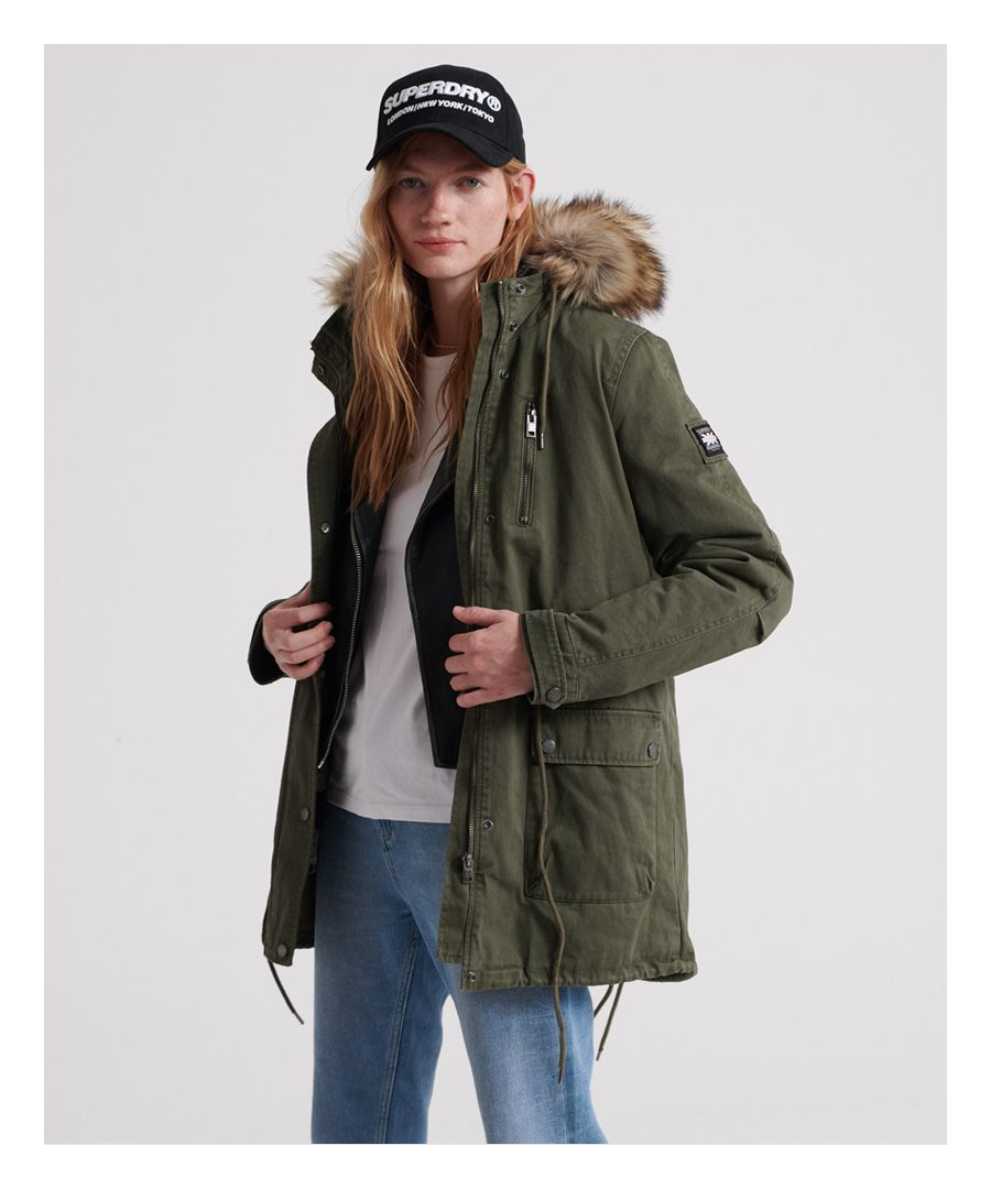 Image for Superdry Arizona Rookie Parka Jacket