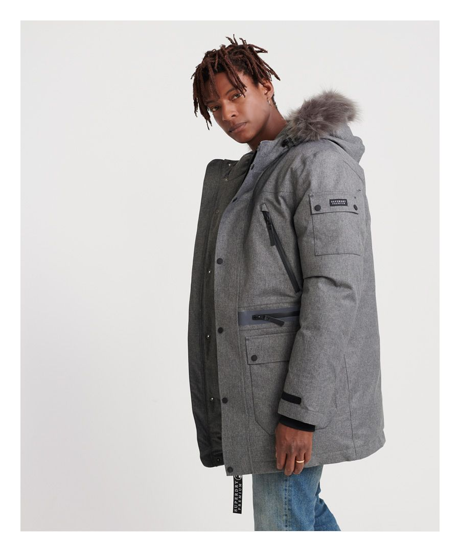 Image for Superdry Waterproof Premium Ultimate Down Parka