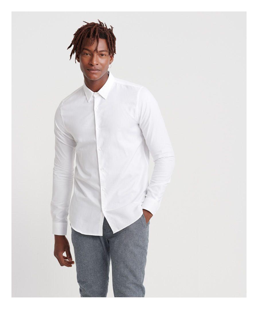 Image for Superdry Edit Slim Long Sleeved Shirt