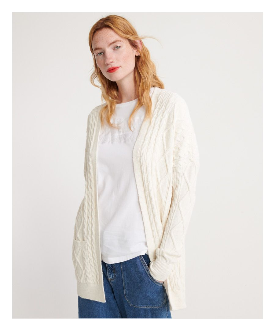Image for Superdry Lannah Cable Cardigan