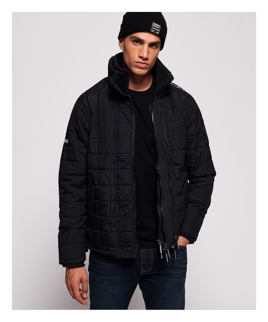 Image for Superdry Quilted Athletic SD-Windcheater Jacket