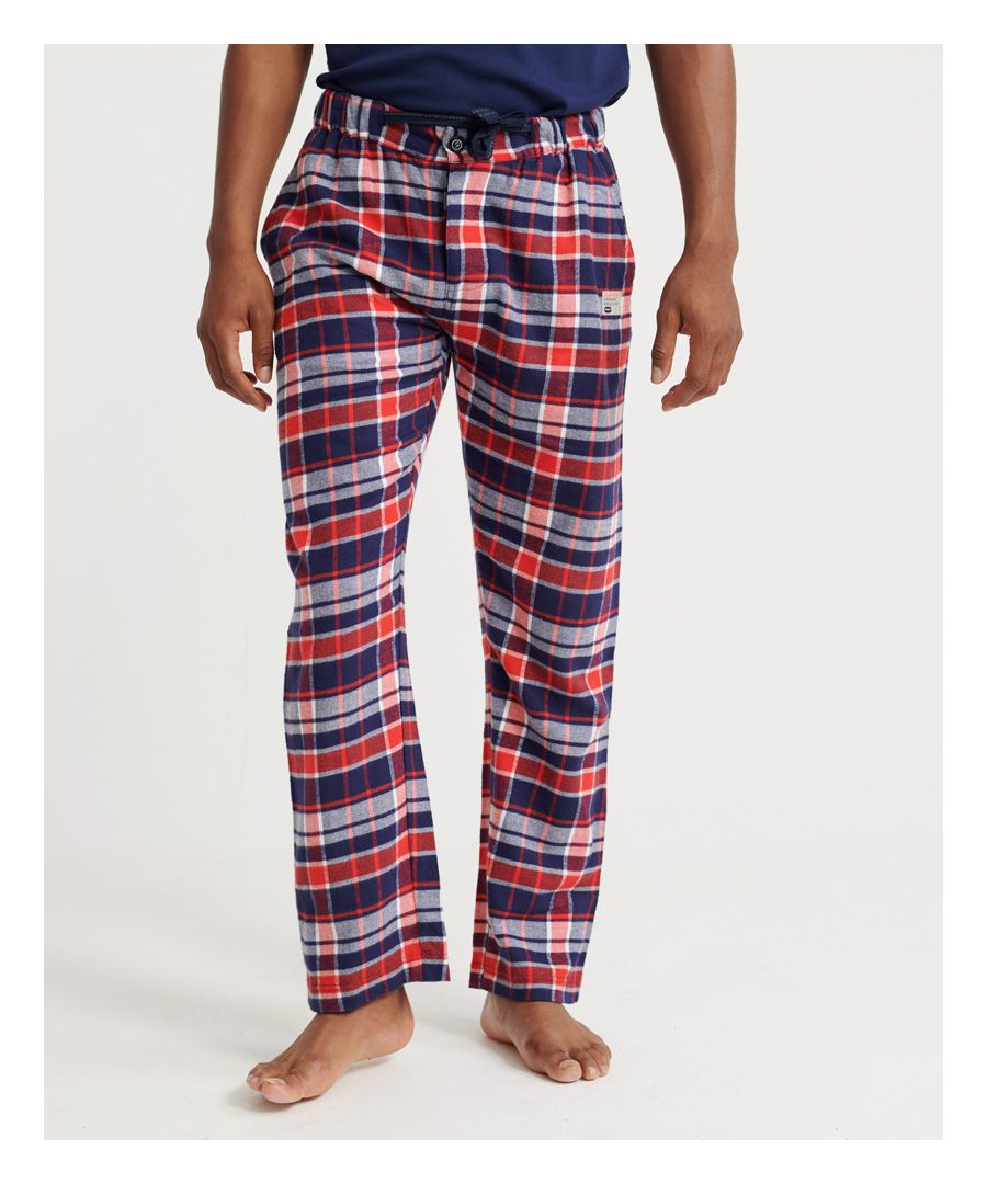 Image for Superdry Organic Cotton Laundry Flannel Pant