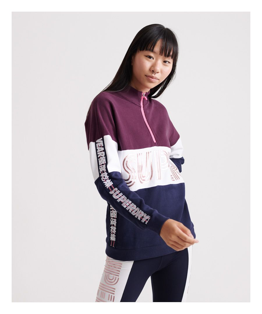 Image for Superdry Flash Sport City Crew Sweatshirt