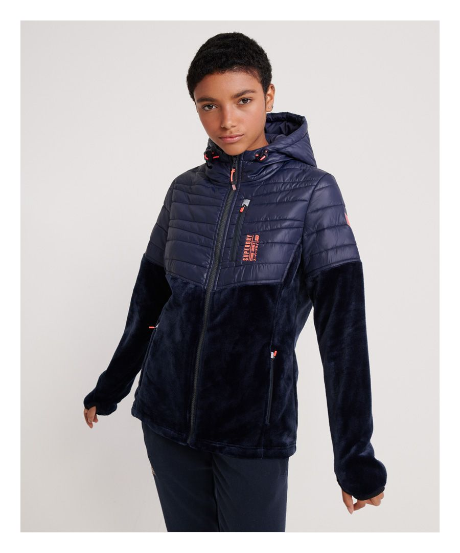 Image for Superdry Storm Panel Hybrid Jacket