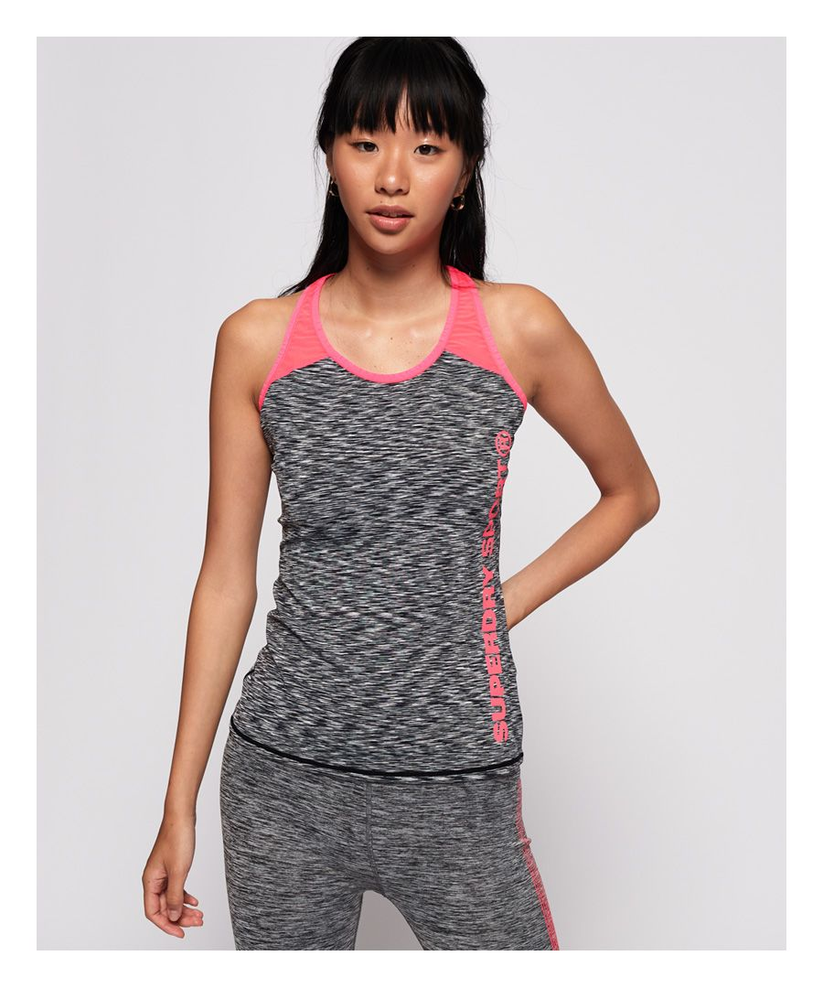 Image for Superdry Core Fitted Mesh Panel Vest