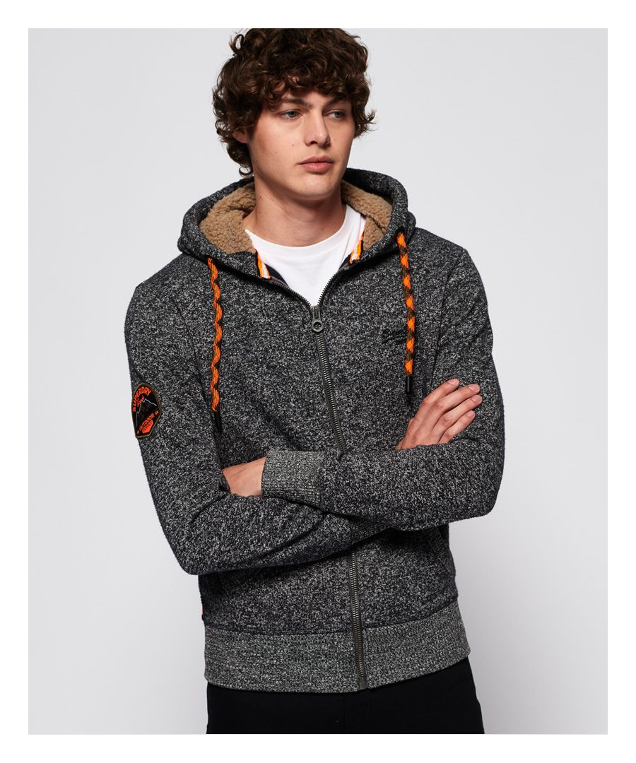 Image for Superdry Orange Label Mountain Zip Hoodie